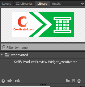 Sellfy Product Preview Widget for Adobe Muse - Free Muse